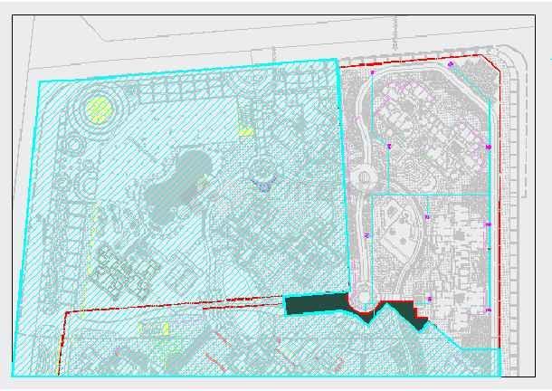 [成都]小区园林景观工程施工图全套-图一