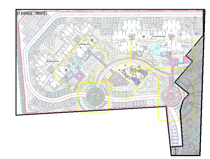 [成都]小区园林景观工程施工图全套图片2