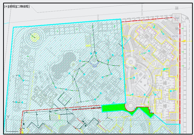 [成都]小区园林景观工程施工图全套图片3