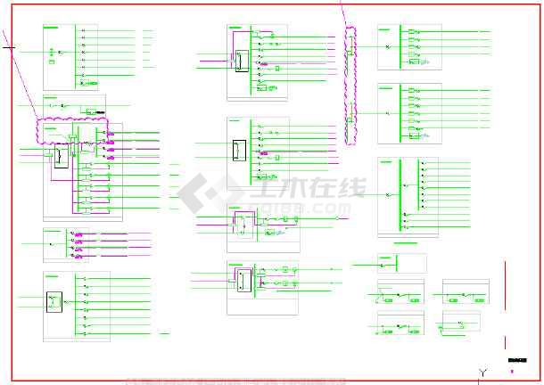 某棚户区安置改造项目地上建筑电气施工图(地上十五层)-图一