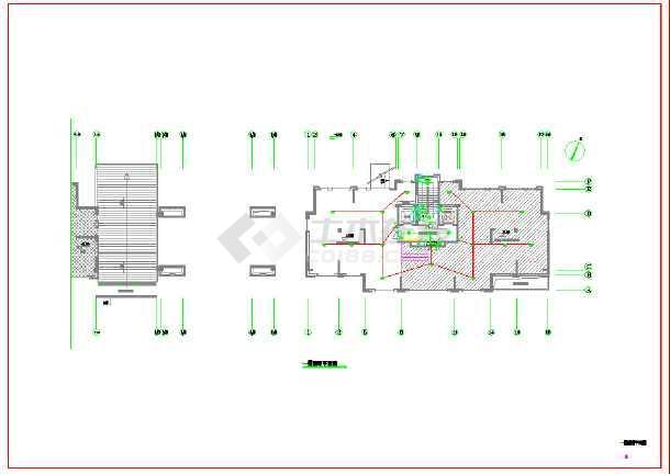 点击查看某棚户区安置改造项目地上建筑电气施工图(地上十五层)第2张大图