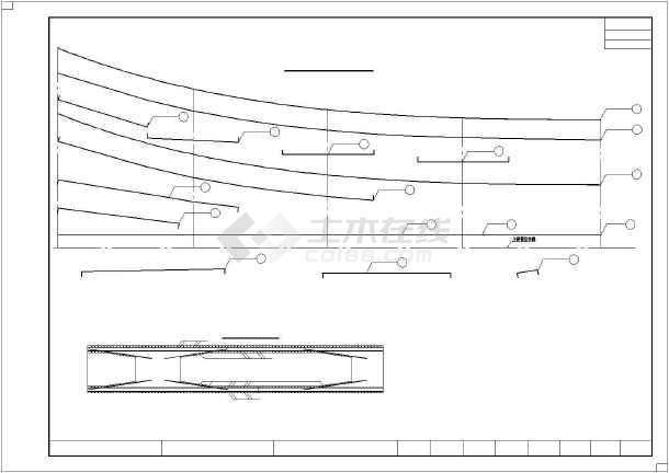 点击查看68.45m异形箱梁梁体设计图49张(全预应力结构)第1张大图