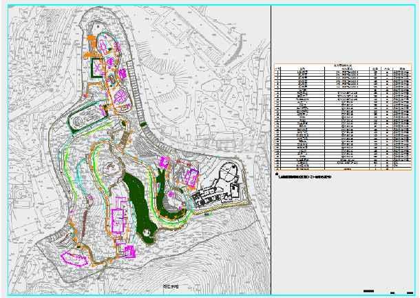 小燕子儿童公园规划设计CAD电气施工图-图二