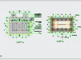 中式园林水榭CAD施工详图图片1