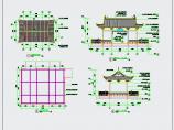 中式园林水榭CAD施工详图图片2