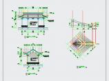 中式园林水榭CAD施工详图图片3
