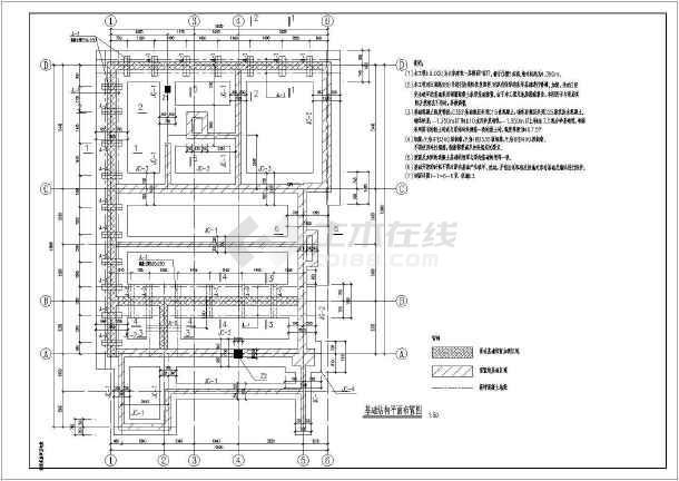 某独栋别墅房屋修缮恢复原状结构施工图(砖木结构)-图一