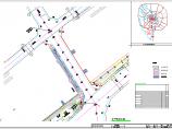 [四川]城市主干道汉式建筑形制三跨连拱人行景观廊桥设计图,109张图片1