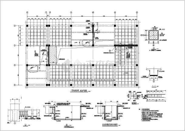 结构加固改造平面图相关CAD设计图纸-图一
