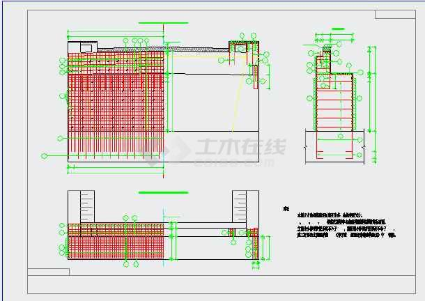 [江苏]桥面连续6×20m后张法预应力空心板简支梁结构跨河桥设计图(附计算书)-图二