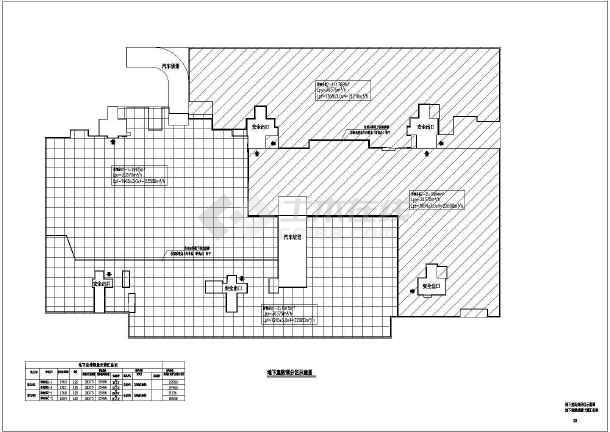 点击查看某棚户区安置改造项目CAD暖通施工图第1张大图