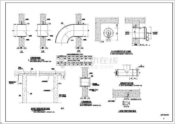 某棚户区安置改造项目CAD暖通施工图-图二