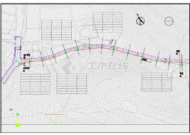 [浙江]风景区道路综合整治提升工程施工图55张(含交通电气绿化排水)-图一