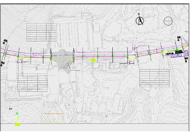 [浙江]风景区道路综合整治提升工程施工图55张(含交通电气绿化排水)-图二