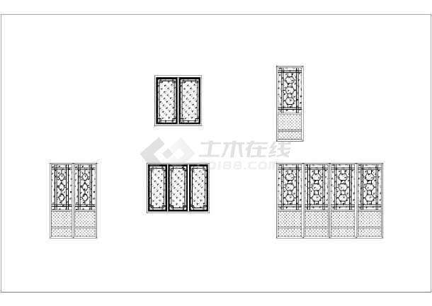 [广东]某火车站站前广场景观全套施工图设计(水电+园建+绿化+结构+93个CAD+252张)-图一