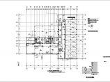 某七层训练楼暖通施工图(通风及防排烟平面图)