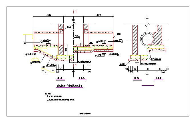 春江路市政道路设计图(排水及管线综合部分)图片2