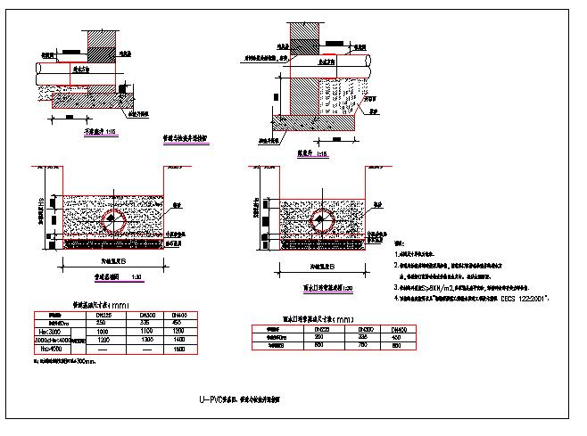春江路市政道路设计图(排水及管线综合部分)图片3