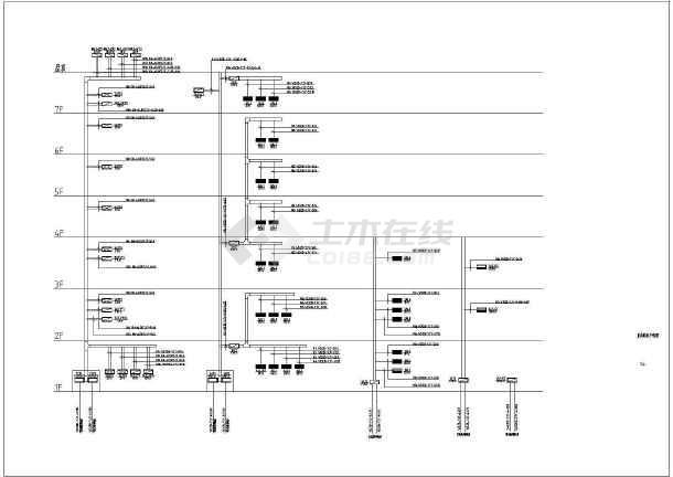 点击查看某消防站电气设计CAD施工图(建筑面积7082平方米)第1张大图