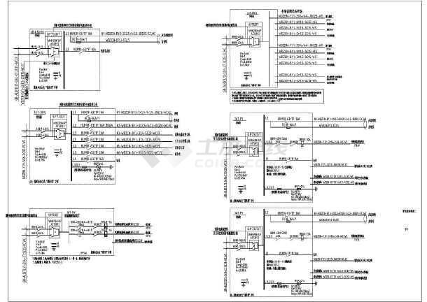 点击查看某消防站电气设计CAD施工图(建筑面积7082平方米)第2张大图