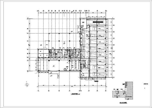 某消防站给排水CAD施工图-图一