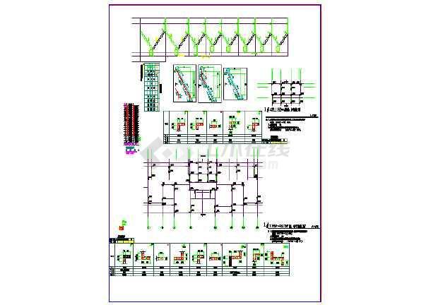 某棚户区安置改造项目结构施工图( 含人防结构)-图二