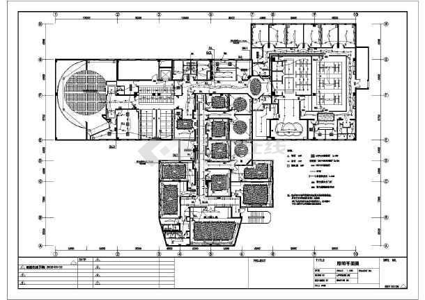 某工程装修电气施工详图(共4张图纸)-图二