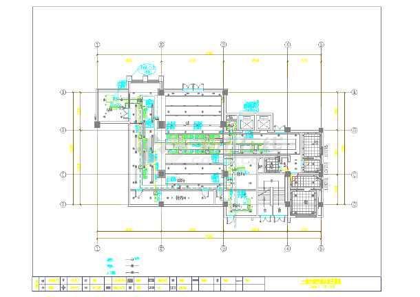 点击查看某公司装修设计暖通施工图第2张大图