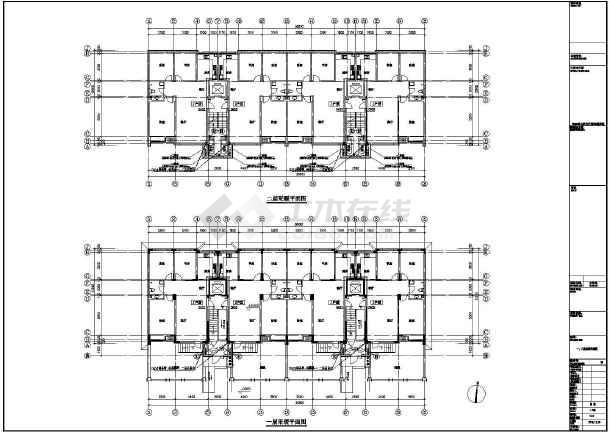点击查看某小区26#楼暖通设计cad图第1张大图