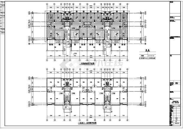 点击查看某小区26#楼暖通设计cad图第2张大图