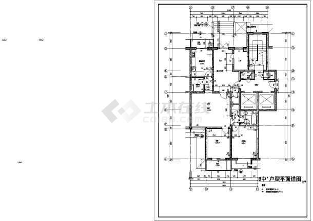 点击查看[方案]某高层住宅楼户型设计方案第1张大图