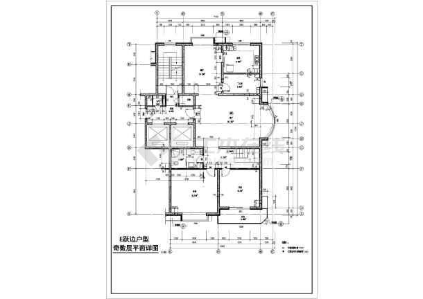 点击查看[方案]某高层住宅楼户型设计方案第2张大图