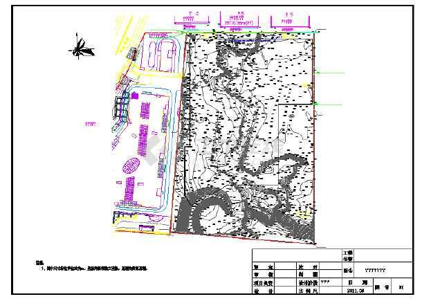点击查看基坑支护CAD施工图纸(含5套打包)第1张大图