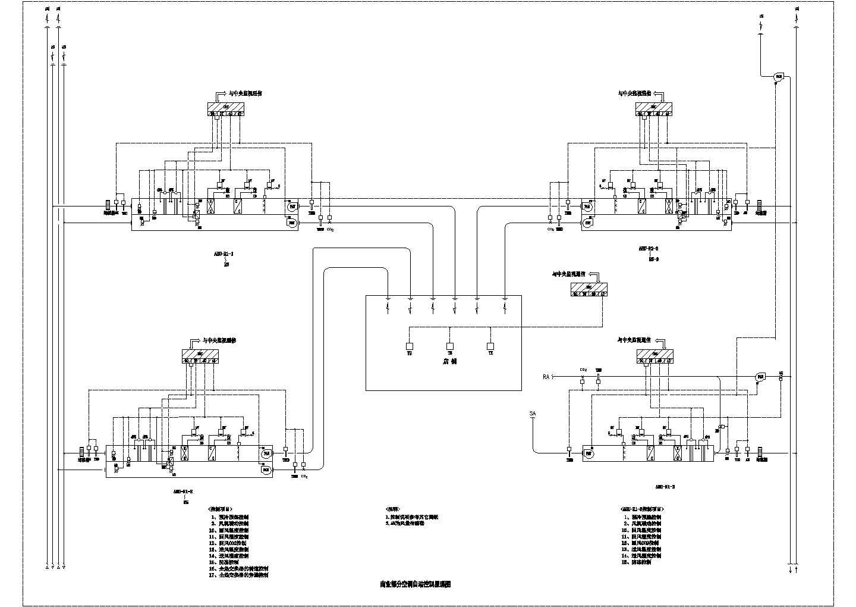 某工程空调自控设计cad图图片2
