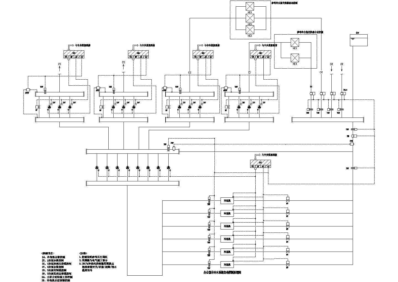 某工程空调自控设计cad图图片3