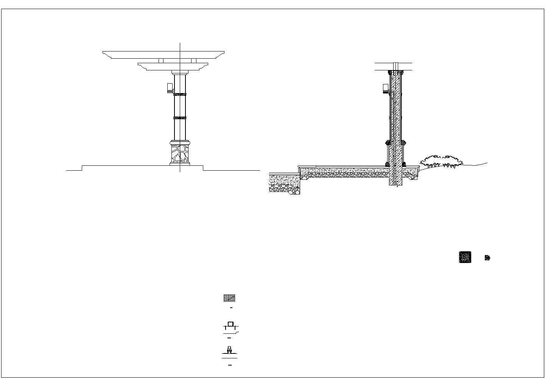 [深圳]小区园林景观工程施工图图片3