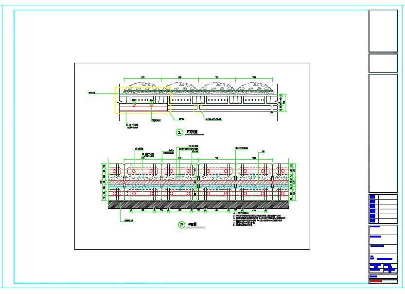 立交桥立体绿化建设工程全套施工图图片3