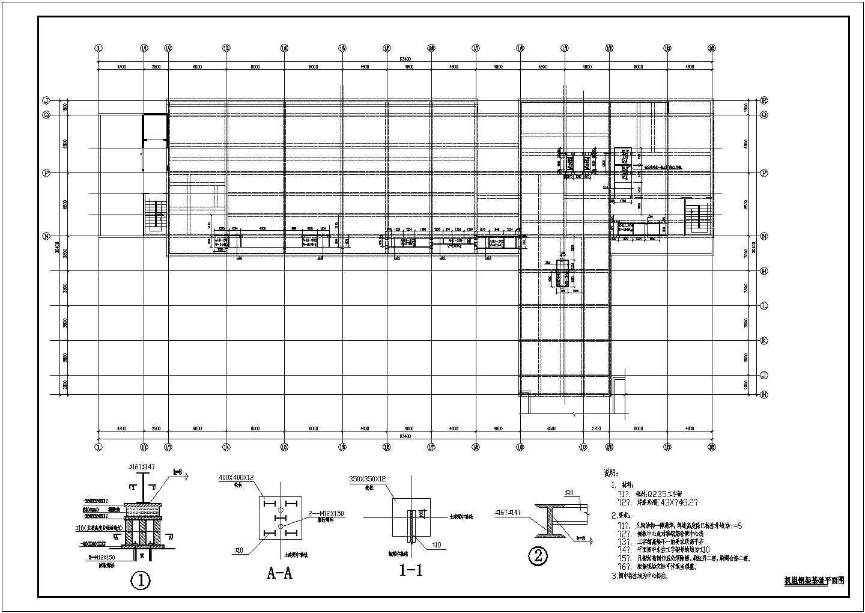 某医院洁净空调系统设计cad图片1