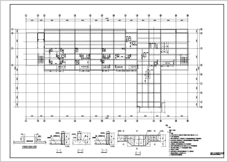 某医院洁净空调系统设计cad图片3