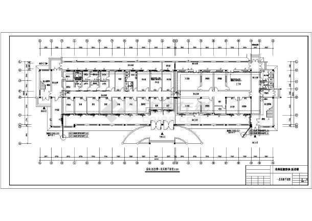 点击查看非典门诊楼水暖通风图第2张大图