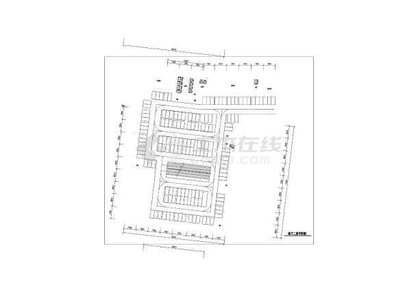 人民医院住院综合楼建筑图纸-图二