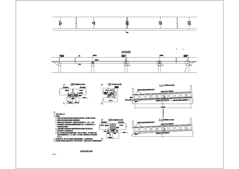 [湖北]装配式预应力空心板梁桥全套施工图设计(含锥坡护肩墙)图片3