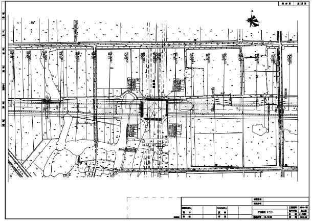 新规范设计城市次干路施工图设计(含路面交叉)-图二