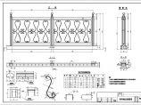 桥栏杆设计cad图,共29张图片3