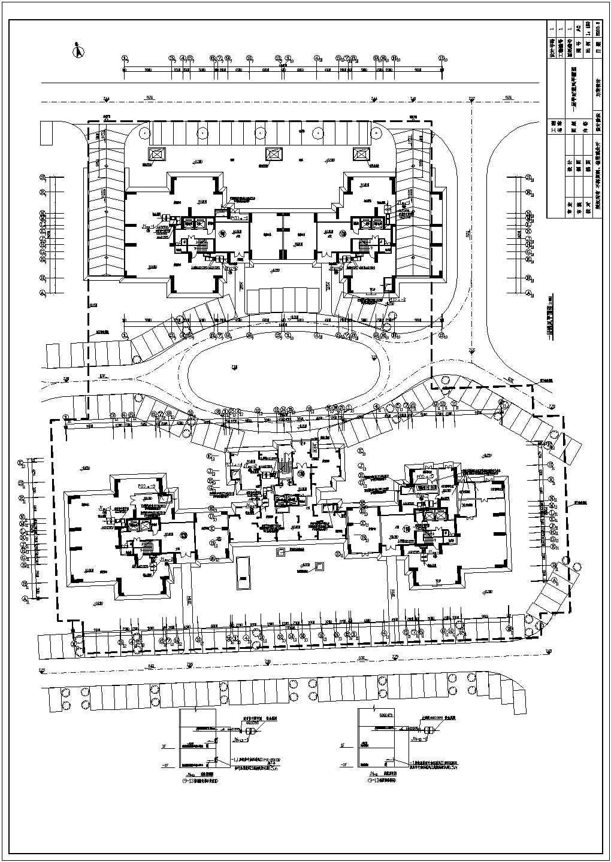 某9554.33�O平米工程地下车库通风平面图图片3