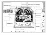 某地广场绿化规划设计总图图片1