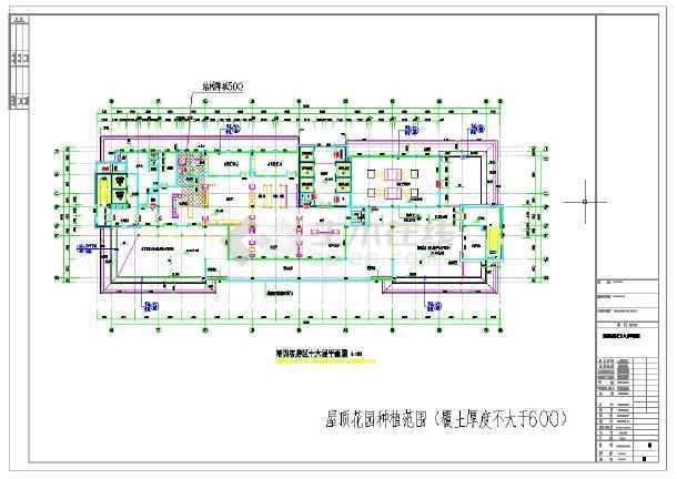 6万平方米国际会议中心建筑施工图-图二