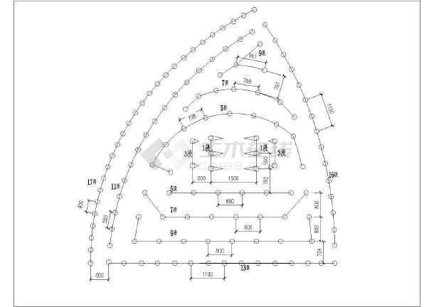 地铁车站及区间工程实施性施工组织设计124页附CAD(复合式衬砌结构矿山法)-图一