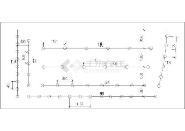 地铁车站及区间工程实施性施工组织设计124页附CAD(复合式衬砌结构矿山法)-图二