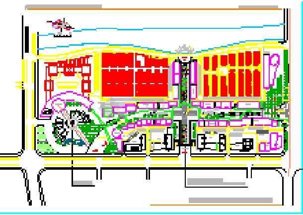 [浙江]商业步行街环境景观设计方案(包含CAD和详细设计说明)-图一